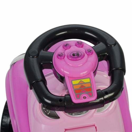 Best Ride On Cars Baby 3 in 1 Little Tikes Push Car Stroller Ride On Toy, Pink Perspective: left