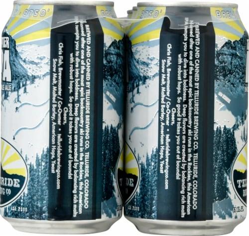 Telluride Tempter IPA Craft Beer Perspective: left