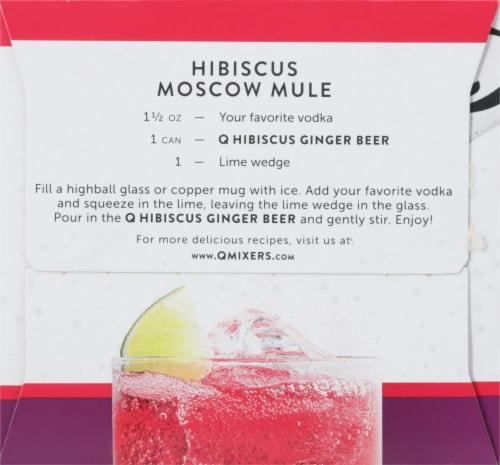 Q Mixers Hibiscus Ginger Beer Perspective: left
