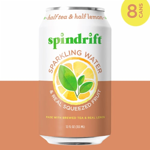 Spindrift Half and Half Sparkling Water Perspective: left