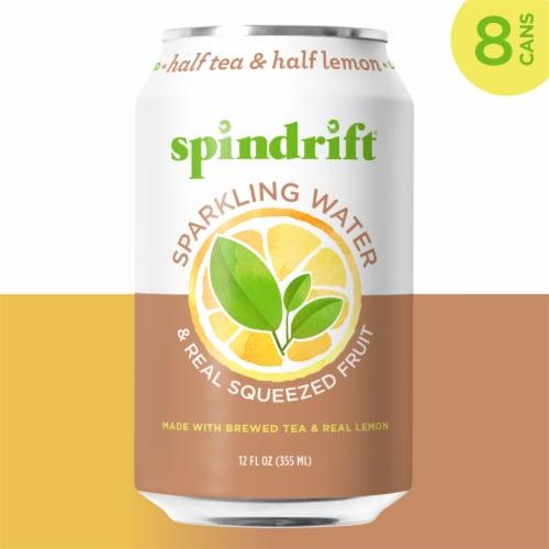 Spindrift Half Tea and Half Lemon Sparkling Water Perspective: left