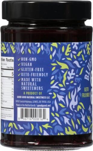 Good Good No Added Sugar Blueberry Jam Perspective: left