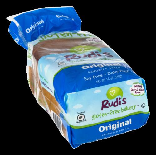 Rudi's Gluten-Free Original Sandwich Bread Perspective: left