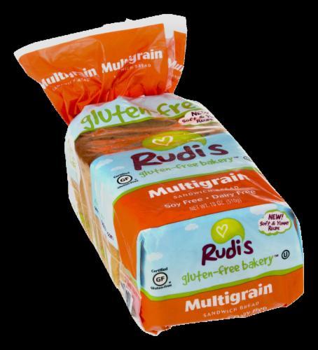 Rudi's Gluten Free Multigrain Sandwich Bread Perspective: left