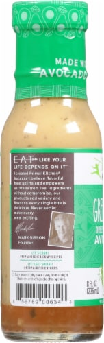 Primal Kitchen Green Goddess Avocado Oil Dressing & Marinade Perspective: left