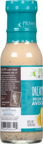 Primal Kitchen Dreamy Avocado Oil Italian Dressing & Marinade Perspective: left