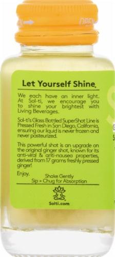 Sol-ti Ginger SuperShot Herbal Supplement Perspective: left