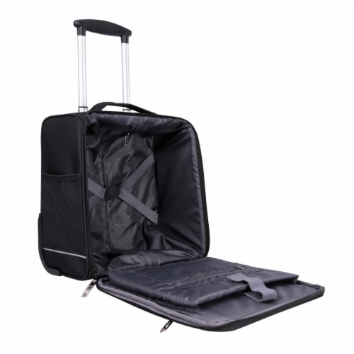 """Basel 14"""" Luggage Black SD4000 Perspective: left"""