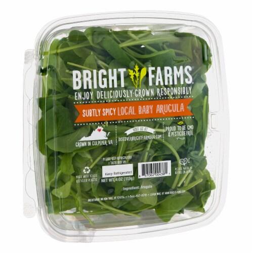 Bright Farms Baby Arugula Perspective: left