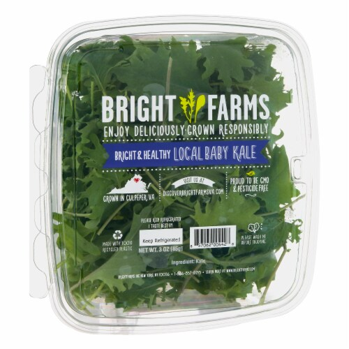 Bright Farms Baby Kale Perspective: left