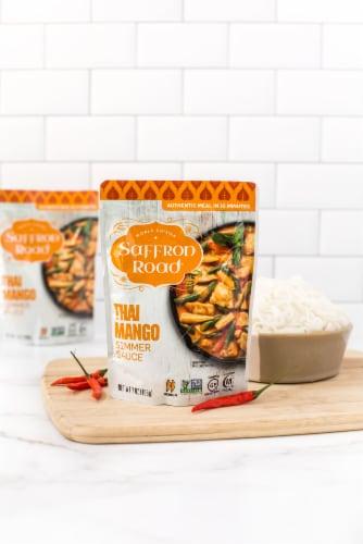 Saffron Road® Gluten-Free Thai Mango Simmer Sauce Perspective: left