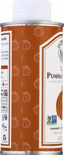 La Tourangelle Toasted Pumpkin Seed Oil Perspective: left