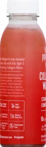 Vital Proteins Strawberry Lemon Collagen Water Perspective: left