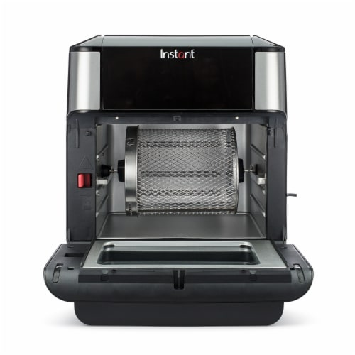 Instant Brands Vortex Plus Air Fryer Oven - Black/Silver Perspective: left