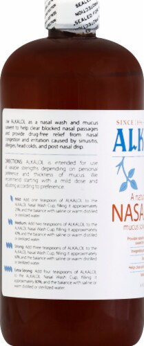 Alkalol Natural Soothing Nasal Wash Perspective: left