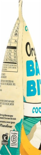 Barnana Organic Chewy Coconut Banana Bites Perspective: left