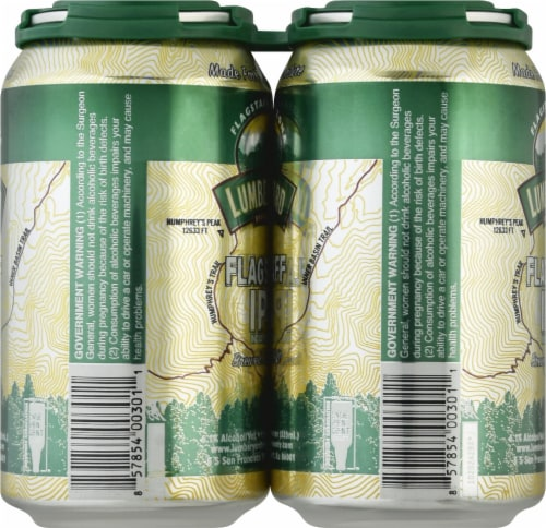 LumberYard Brewing Co. Flagstaff IPA Perspective: left