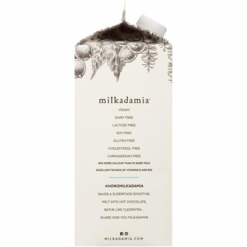 Milkadamia Unsweetened Macademia Milk Perspective: left
