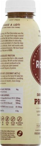 REBBL Organic Dark Chocolate Protein Elixer Perspective: left