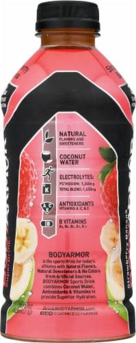 BODYARMOR SuperDrink Strawberry Banana Sports Drink Perspective: left