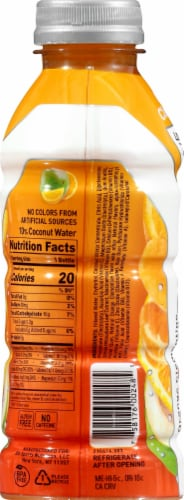 BODYARMOR Lyte Orange Clementine Sports Drink Perspective: left