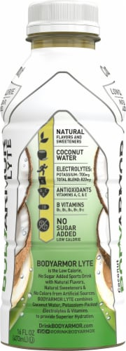 BODYARMOR Lyte Coconut Sports Drink Perspective: left