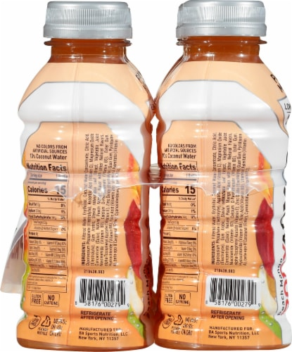 BODYARMOR Lyte Peach Mango Sports Drink Perspective: left