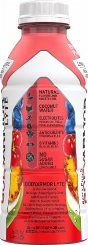 BODYARMOR Lyte Berry Punch Sports Drink Perspective: left