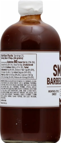 Lillie's Q Smoky Memphis-Style Sweet Barbeque Sauce Perspective: left