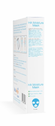 Ha Moisture Mask 4-Pack with Hyaluronic Acid Perspective: left