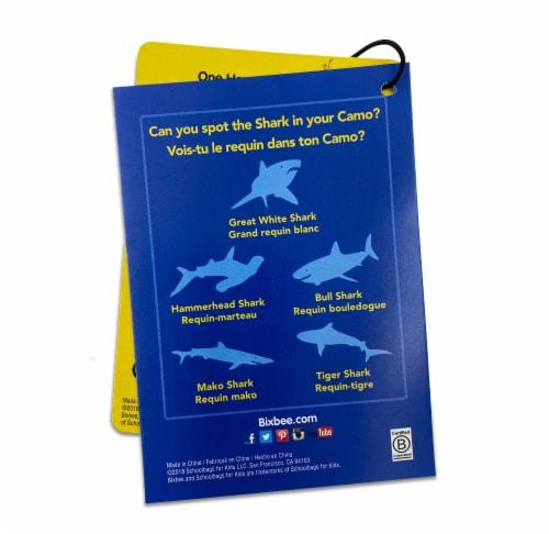 Bixbee Shark Camo Lunchbox Perspective: left