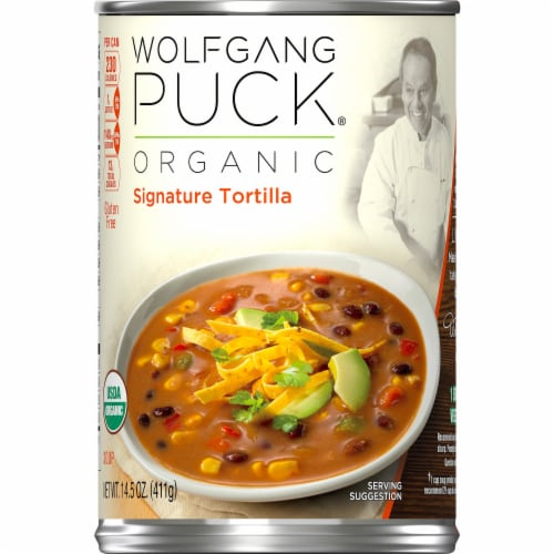 Wolfgang Puck Organic Signature Tortilla Soup Perspective: left