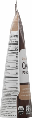 Navitas Organics Cacao Powder Perspective: left