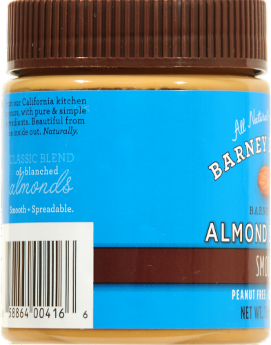 Barney Butter Smooth Almond Butter Perspective: left