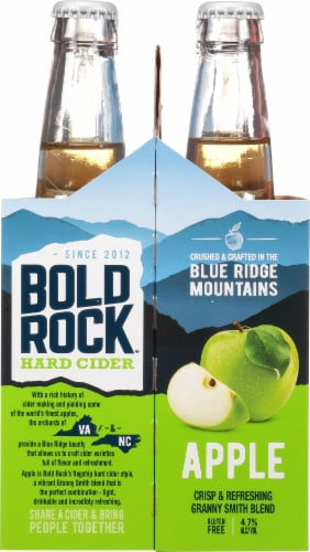 Bold Rock® Virginia Granny Smith Apple Hard Cider Perspective: left