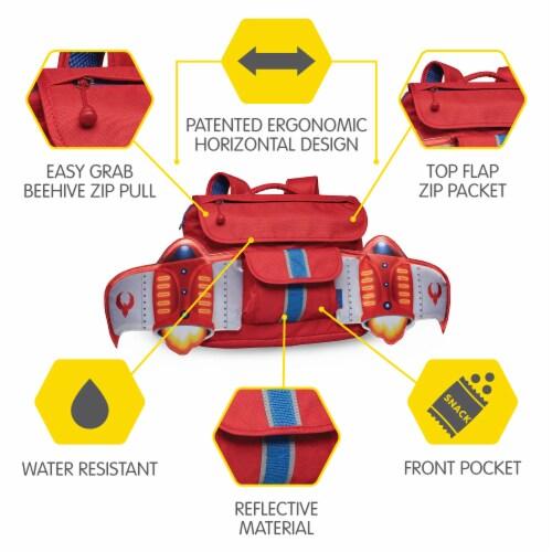 Bixbee Small Firebird Flyer Backpack Perspective: left