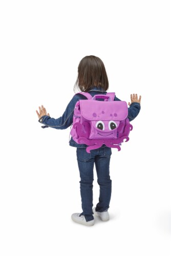 Bixbee Animal Pack Small Octopus Backpack Perspective: left