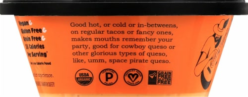 The Honest Stand Organic Dairy Free Mild Nacho Dip Perspective: left