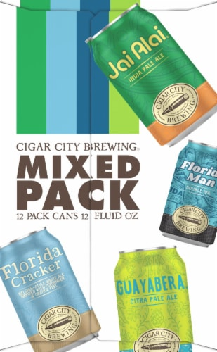 Cigar City Brewing Variety Pack Perspective: left
