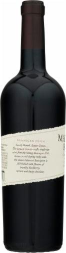 Matchbook Wine Co. Estate Red Gravel Cabernet Sauvignon Perspective: left