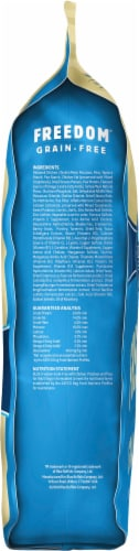 Blue Buffalo Freedom Grain-Free Chicken Adult Recipe Dog Food Perspective: left