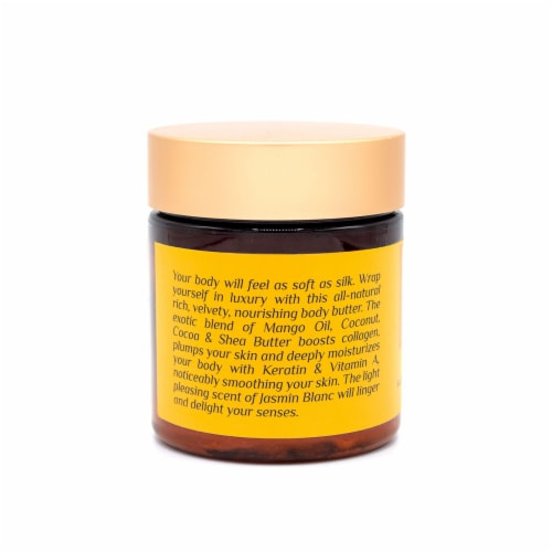 Thé Jasmin Blanc Whipped Body Butter Soufflé Perspective: left