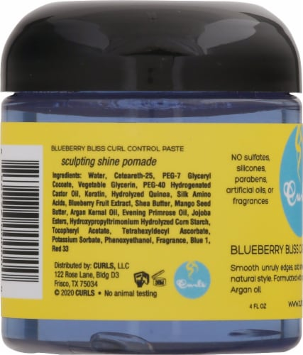Curls™ Blueberry Bliss Curl Control Paste Perspective: left
