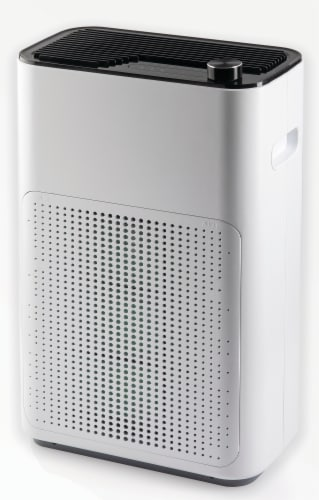 NuvoMed Anti-Virus Floor Standing Air-Purifier Perspective: left