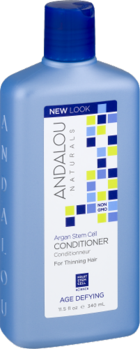 Andalou Naturals Argan Stem Cell Age Defying Treatment Conditioner Perspective: left