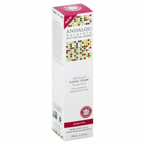 Andalou Naturals 1000 Roses Floral Toner Perspective: left