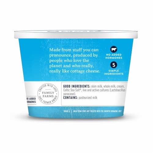 Good Culture Low-Fat Classic 2% Cottage Cheese Perspective: left