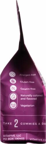 vitafive Elderberry for Immunity Gummies 60 Count Perspective: left