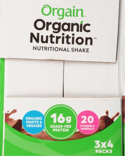 Orgain Organic High Protein Meal Replacement Drink Perspective: left