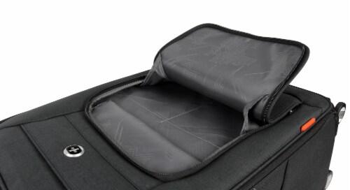 Swisdigital Sion Spinner Luggage - Black Perspective: left
